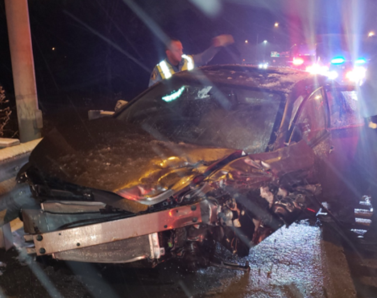 Two Lansing police officers were injured in separate crashes in a 12-hour period April 10 and 11 while policing crash scenes.