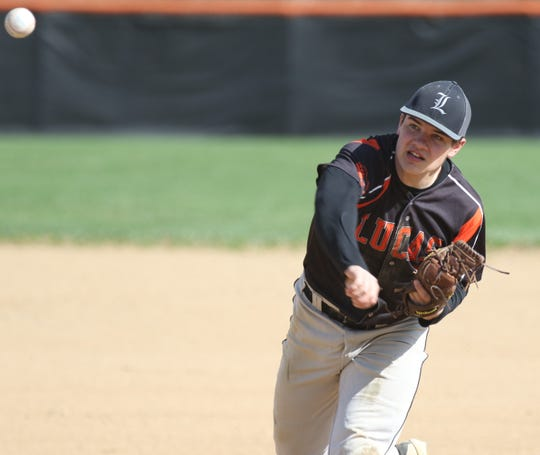 Lucas' Jeb Grover was named first team All-Mid-Buckeye Conference in 2019.