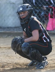 Lucas senior Morgan Spitler brings back a big bat and a strong arm for the Lady Cubs as she moves from catcher to pitcher this season.