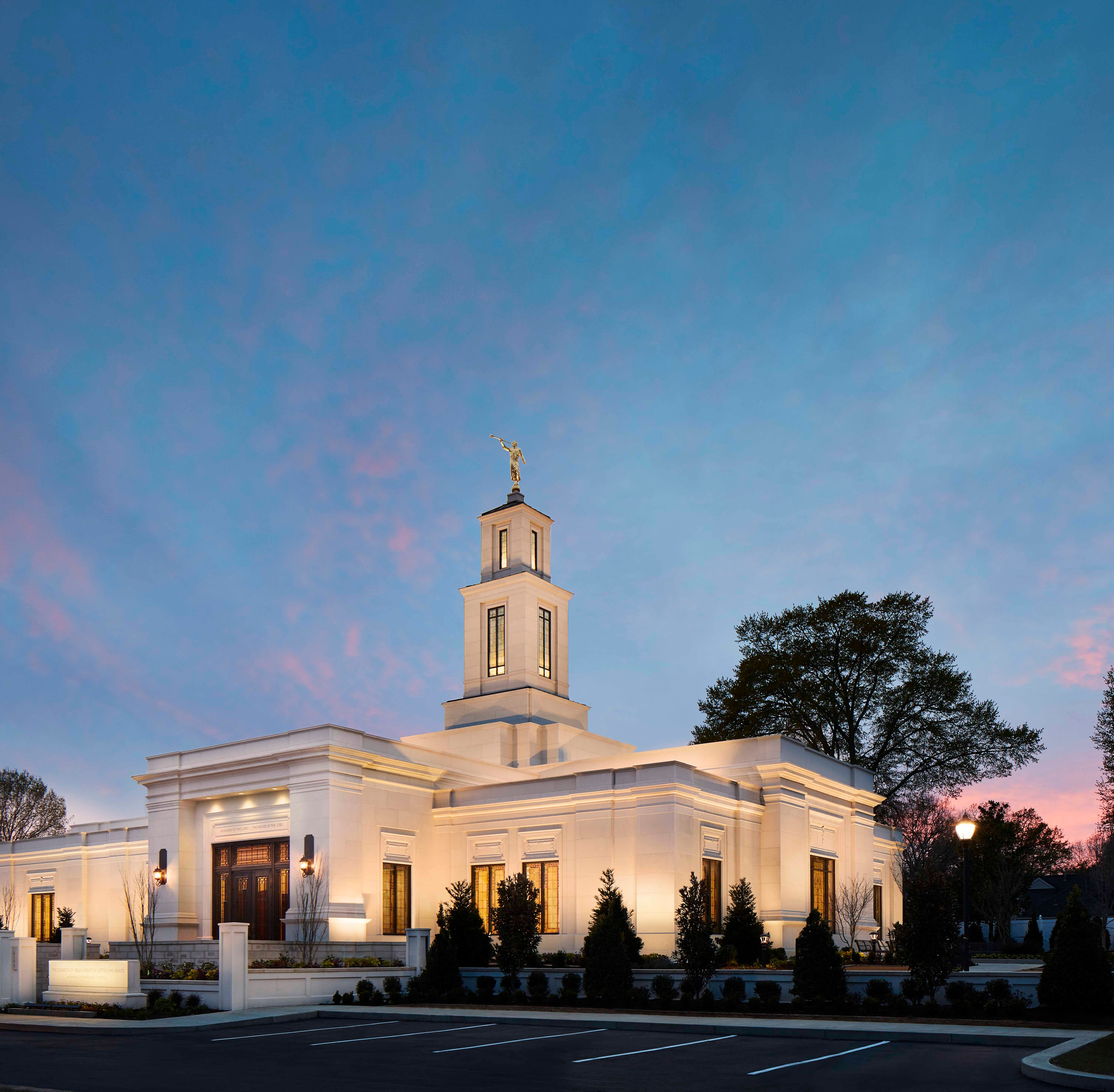 A first look at the Memphis Tennessee Temple of the Church of Jesus Christ of Latter-day Saints