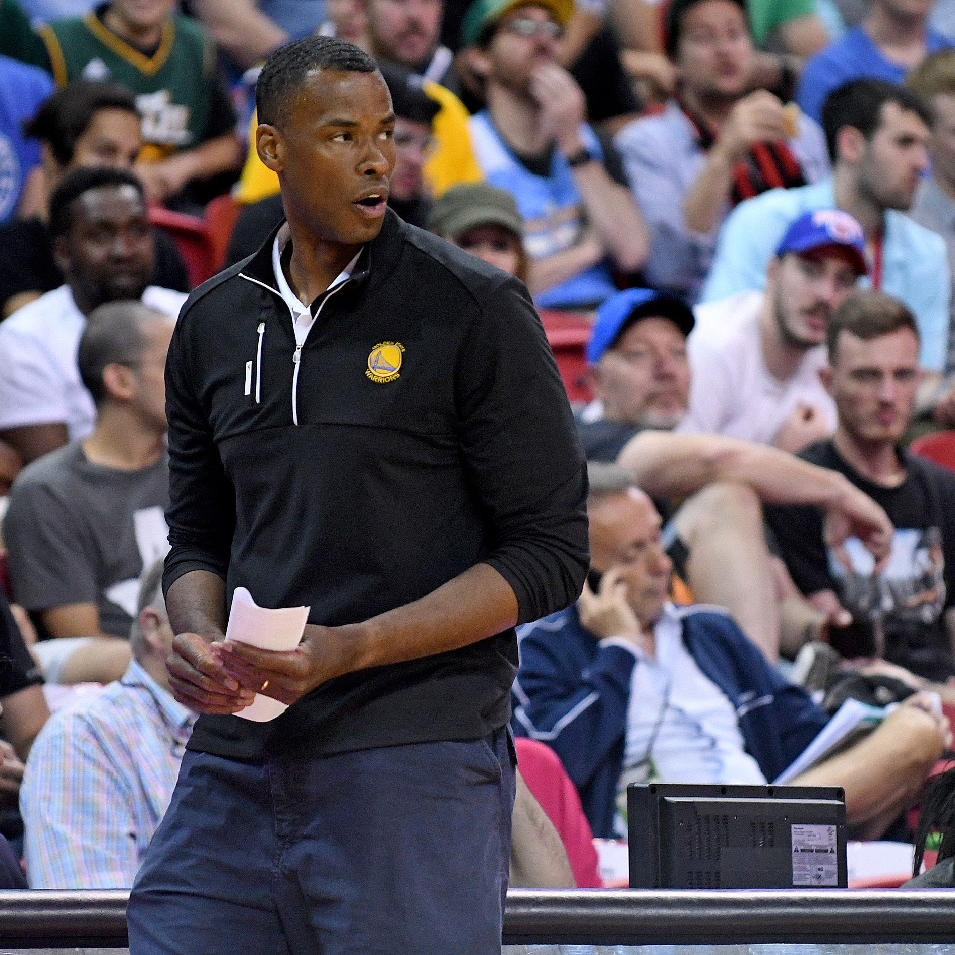 Steve Kerr 'all for' assistant Jarron Collins' candidacy to be Memphis Grizzlies head coach