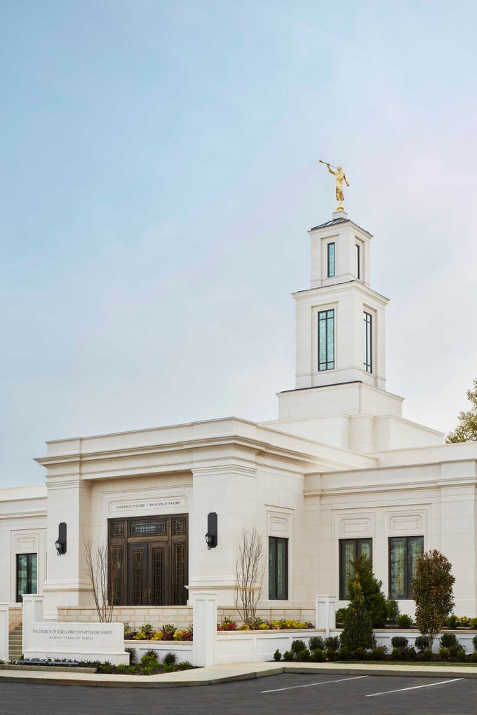 The Memphis Tennessee Temple of The Church of Jesus Christ of Latter-day Saints is reopening after extensive renovations. The public is invited for an open house before the temple's re-dedication.