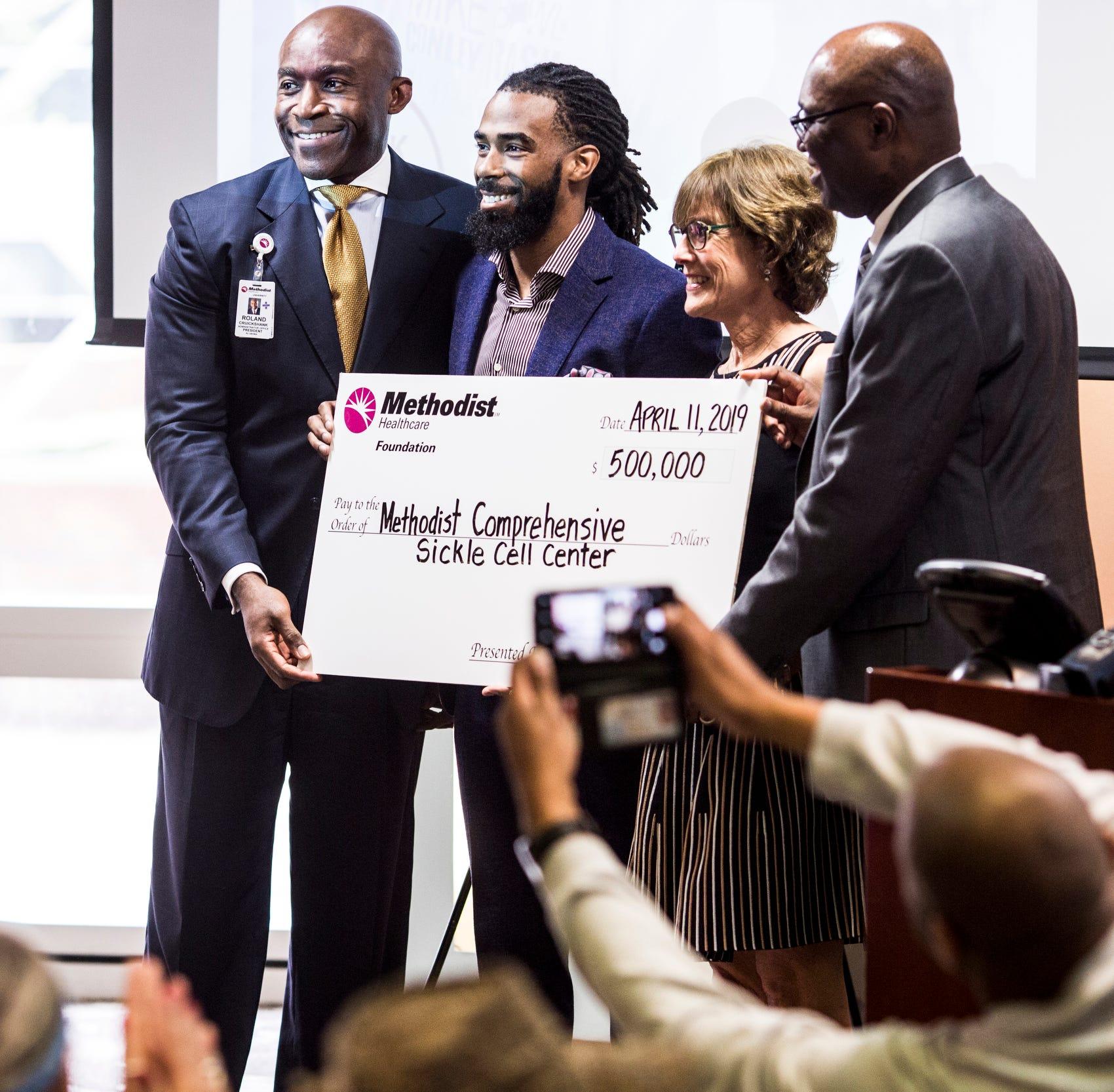 Memphis Grizzlies' Mike Conley donates $500K to Methodist sickle cell center