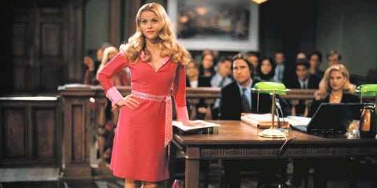 """Reese Witherspoon is """"Legally Blonde."""""""