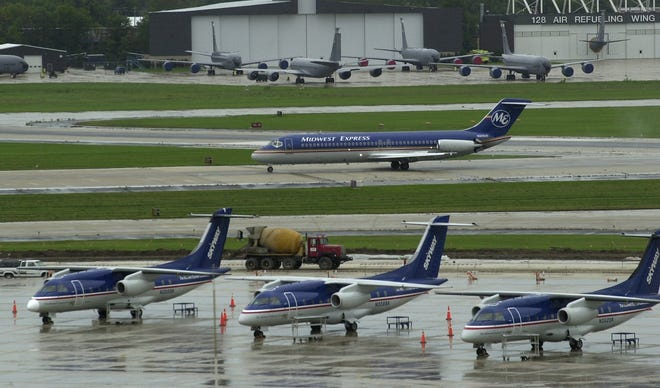 State regulators are asking Milwaukee Mitchell International Airport to investigate the source of toxic chemicals in stormwater flowing off the property.