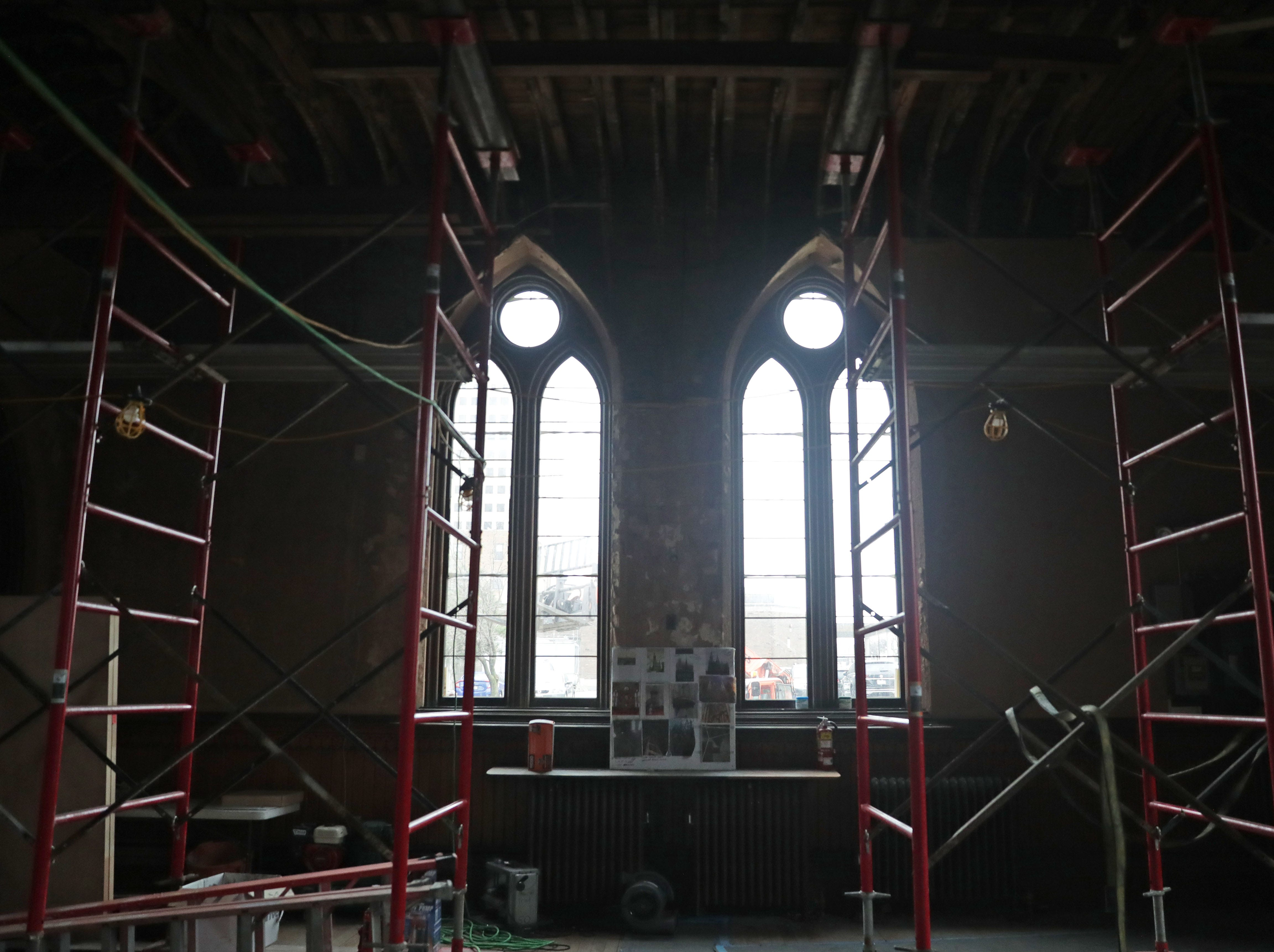 Works is done at Trinity Evangelical Lutheran Church.
