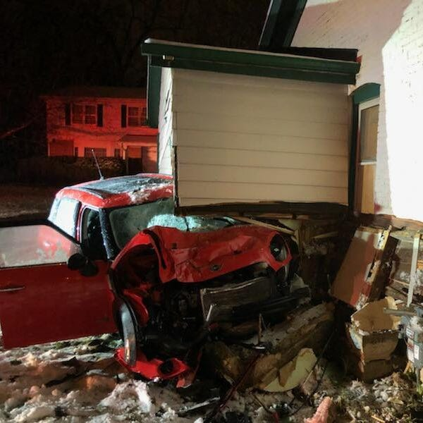 Glendale house struck by drunken driver for the second time