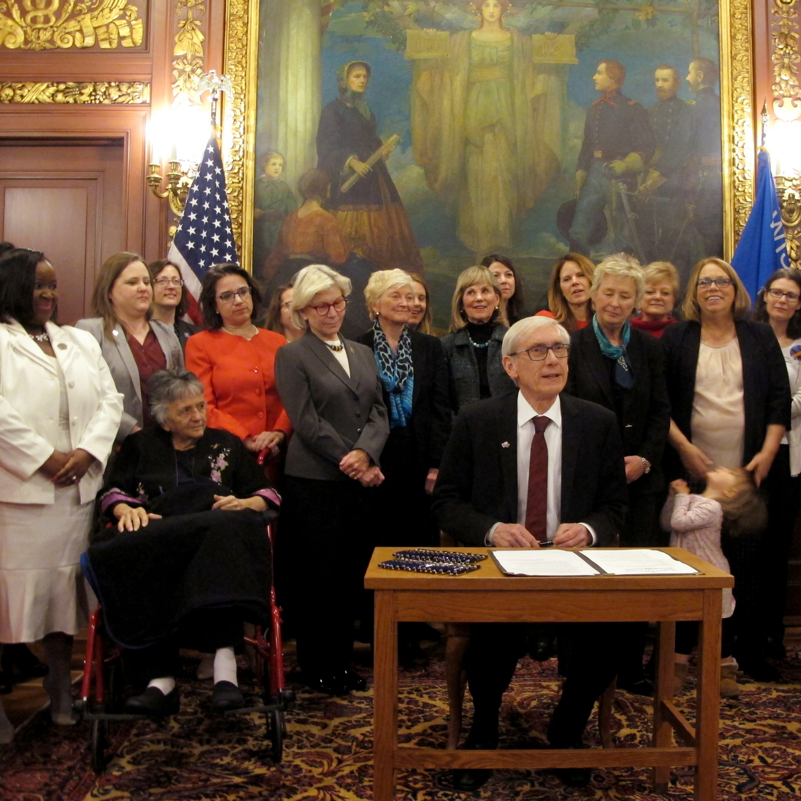 Gov. Tony Evers creates committee to celebrate 100th anniversary of Wisconsin ratifying 19th Amendment