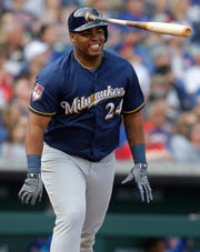 Through Tuesday, Jesus Aguilar was batting .111 (4 for 36) with no home runs and three RBI.