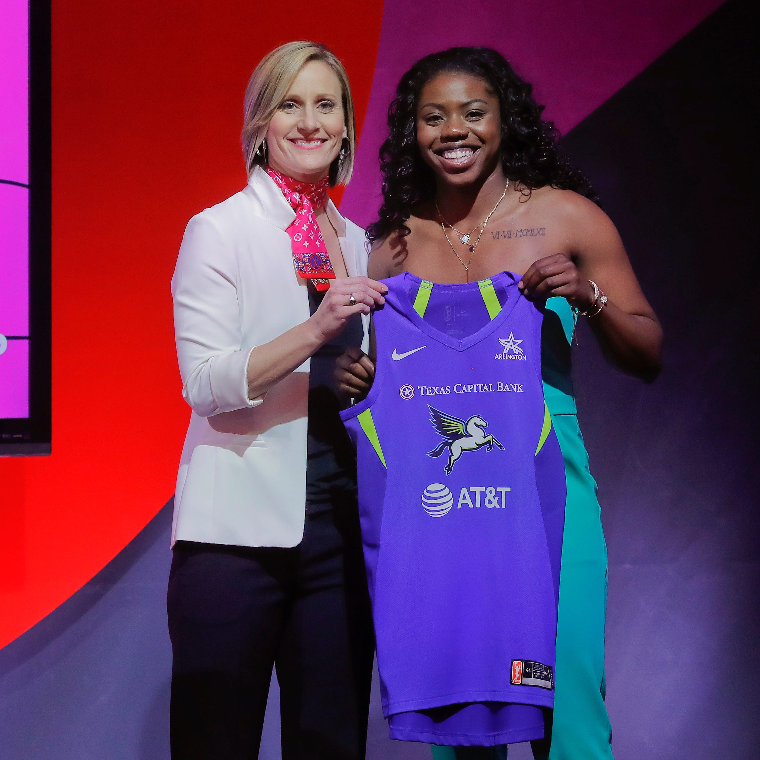 Three players from Wisconsin were selected in the WNBA draft, two by the same team