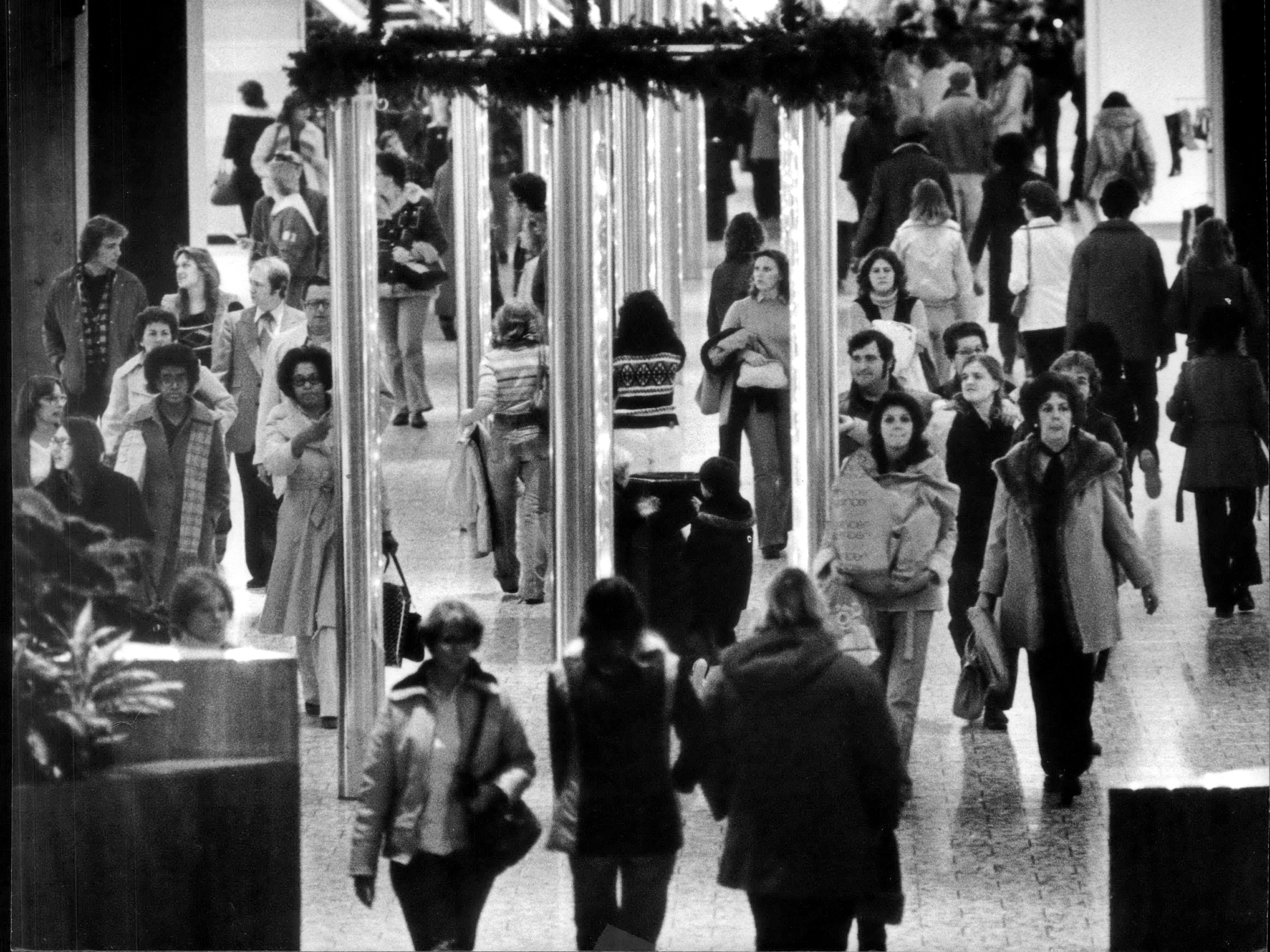 November 1979: Customers packed Northridge as the Christmas shopping season went into high gear.