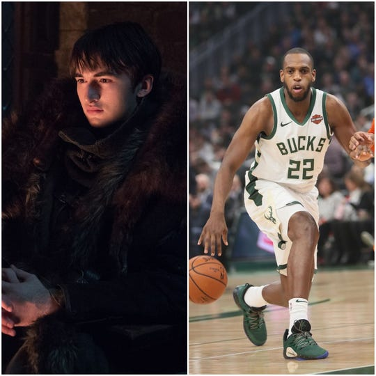 Bran Stark and Khris Middleton