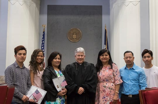 Six new citizens take Oath of Allegiance in Monroe courtroom