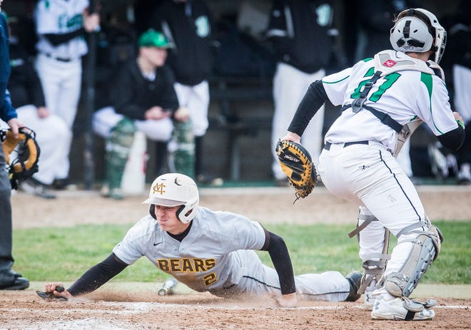 FILE -- Seth Wilson and Monroe Central won the MEC for the first time since 2000.