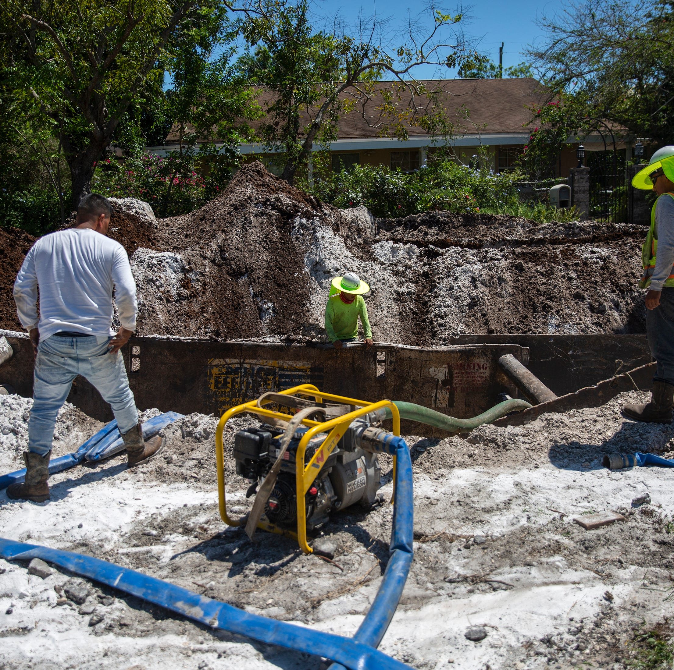 Residents say Naples' septic tank replacement project has been poorly managed, extremely disruptive