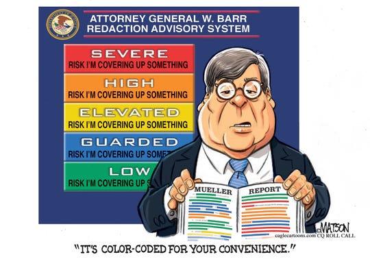 barr's color coding