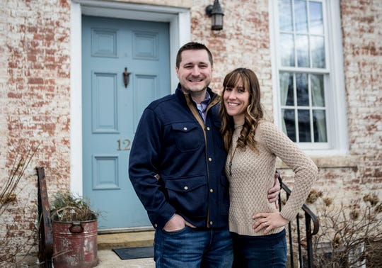 Luke and Samantha Stearns own and operate Songbird Transitions which helps seniors downsize.