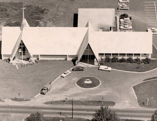 St. Michael's episcopal church,  Wayne, when it opened
