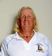 From 2016: Lyndhurst track coach Tom Shoebridge.