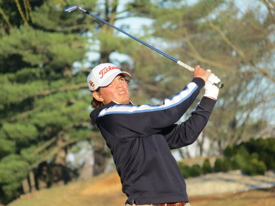 Bergen Catholic senior Will Celiberti won the FDU Invitational  golf tournament by three shots at River Vale CC in River Vale on Wednesday, April 10, 2019.