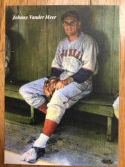 A new baseball card depicts Midland Park's own Johnny Vander Meer.
