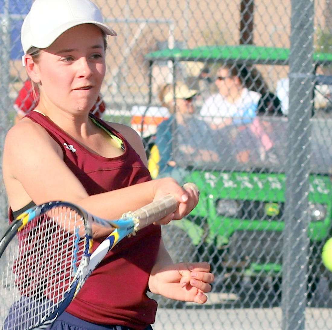 Deming High Lady 'Cats pound Panthers in District 3-5A tennis dual