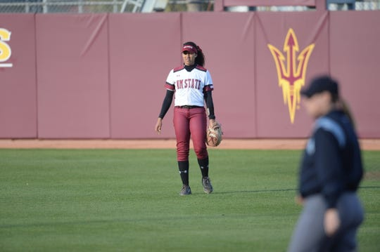 New Mexico State senior outfielder Victoria Castro has developed into a leader for the Aggies softball team.