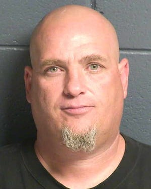 "Kenneth Harper, 44, is accused of using a fraudulent check to ""purchase"" a vehicle."