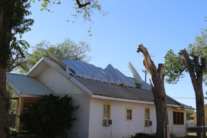 Strong winds in excess of 70 miles an hour were reported in Eddy County March 10. Roof damage was reported in Artesia and Carlsbad, according to the National Weather Service in Midland, Texas.