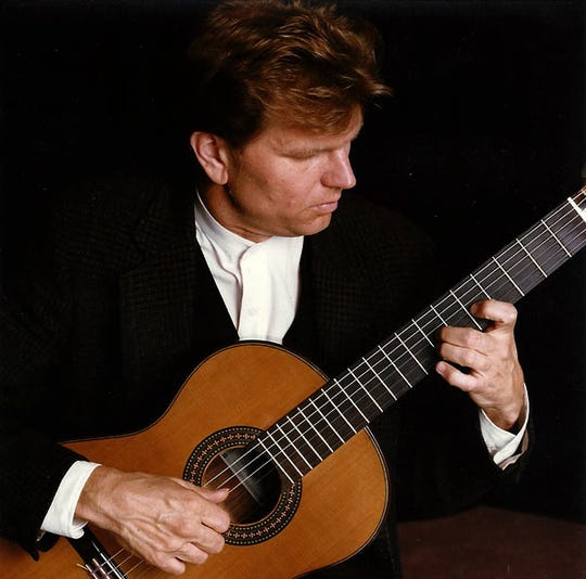 "Guitarist William Feasley plays ""Echoes of Goya"" April 13 in Carrizozo."