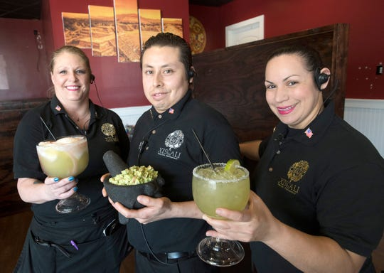 Xiscali owners Reina Medina and Gerardo Soleis and General Manager Danyelle Soder invite everyone to try the handcrafted guacamole and margaritas their new location in Gulf Breeze.