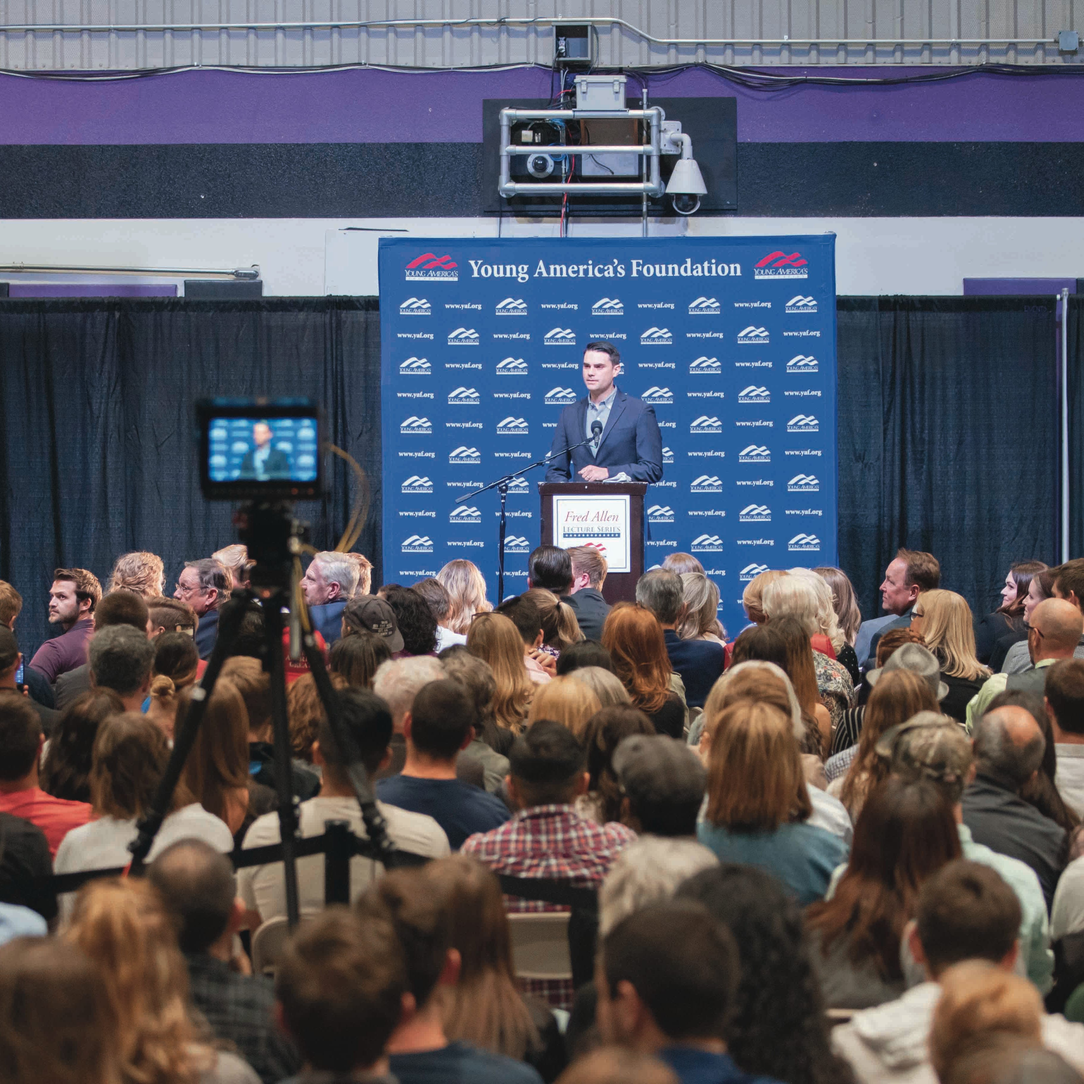 Commentator Ben Shapiro draws nearly 2,000 at GCU after controversy