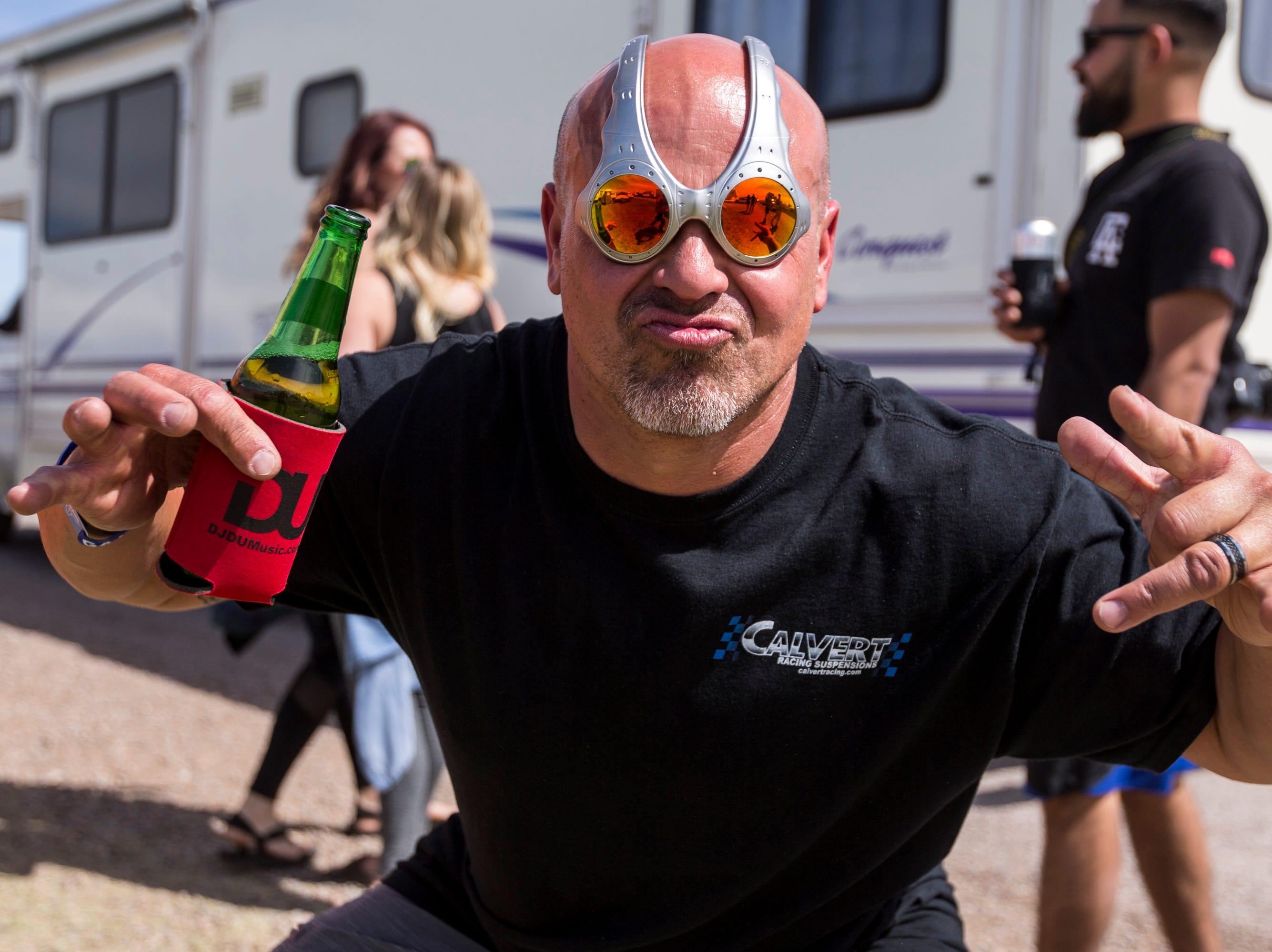 Dan Amarillas poses for a portrait on April 11, 2019, during Day 1 of Country Thunder Arizona in Florence.