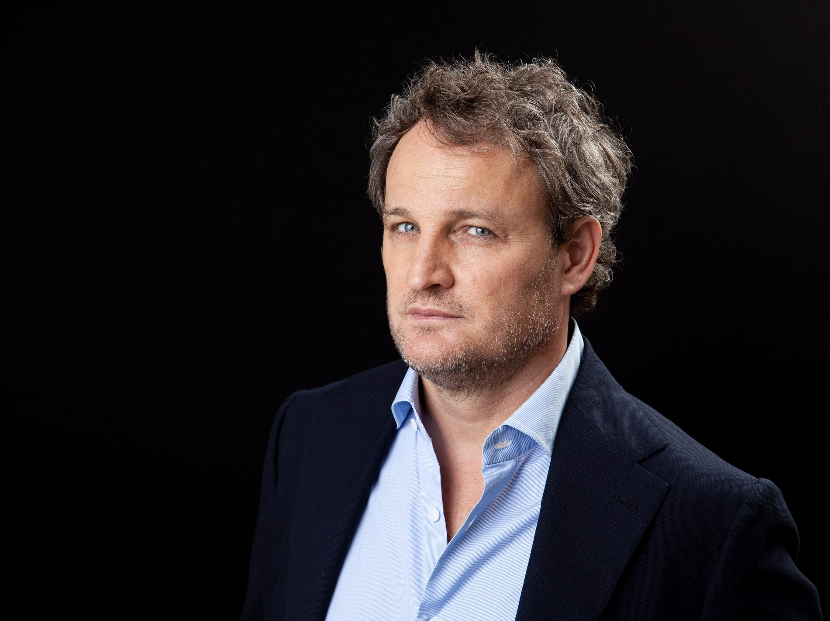 "Jason Clarke promotes ""Pet Sematary"" at the Four Seasons Hotel in Los Angeles on March 19, 2019."