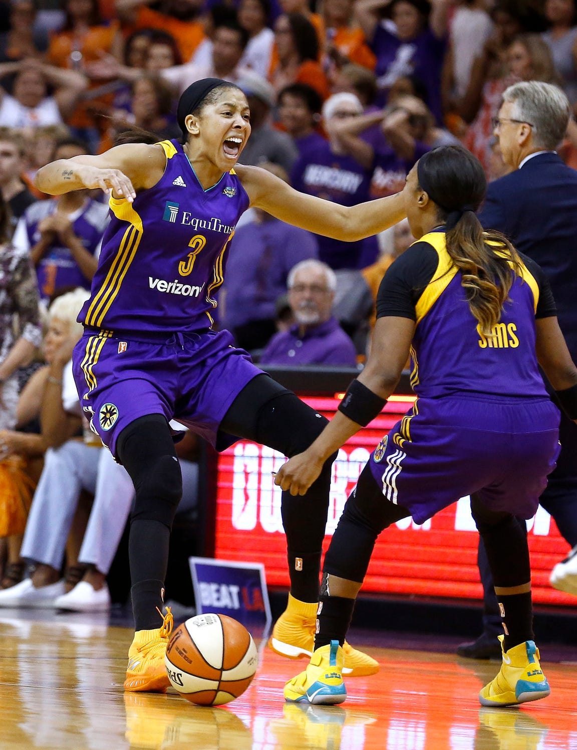 Los Angeles Sparks' Candace Parker has had her way with the Phoenix Mercury, and frankly, we're tired of it.