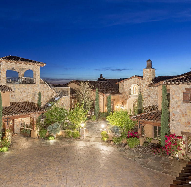 Massive Gold Canyon mansion sees price cut from $12.5M to $6.9M. Take a look inside