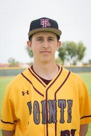 Nathan Ward of Phoenix Mountain Pointe baseball