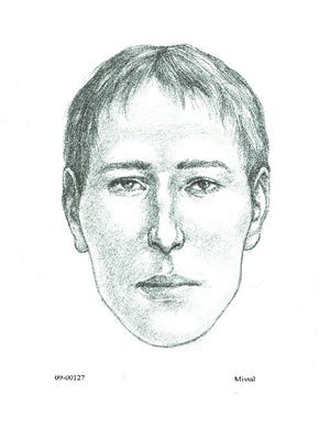 Facial reconstruction of man whose remains were found over 10 years ago in the Prescott area.