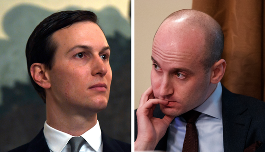Jared Kushner, Stephen Miller