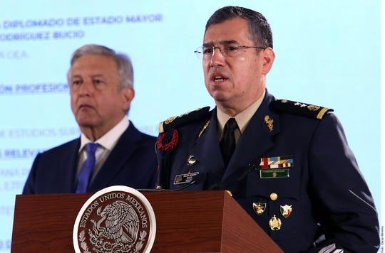 El General Luis Rodríguez Bucio, quien se encuentra en proceso de retiro, fue presidente del Consejo de Delegados de la Junta Interamericana de Defensa de la OEA.