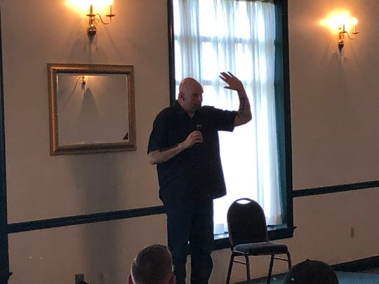 Pennsylvania Lt. Gov. John Fetterman made Lebanon County the 35th stop on his statewide marijuana listening tour where residents are encouraged to discuss the topic of legalizing weed.