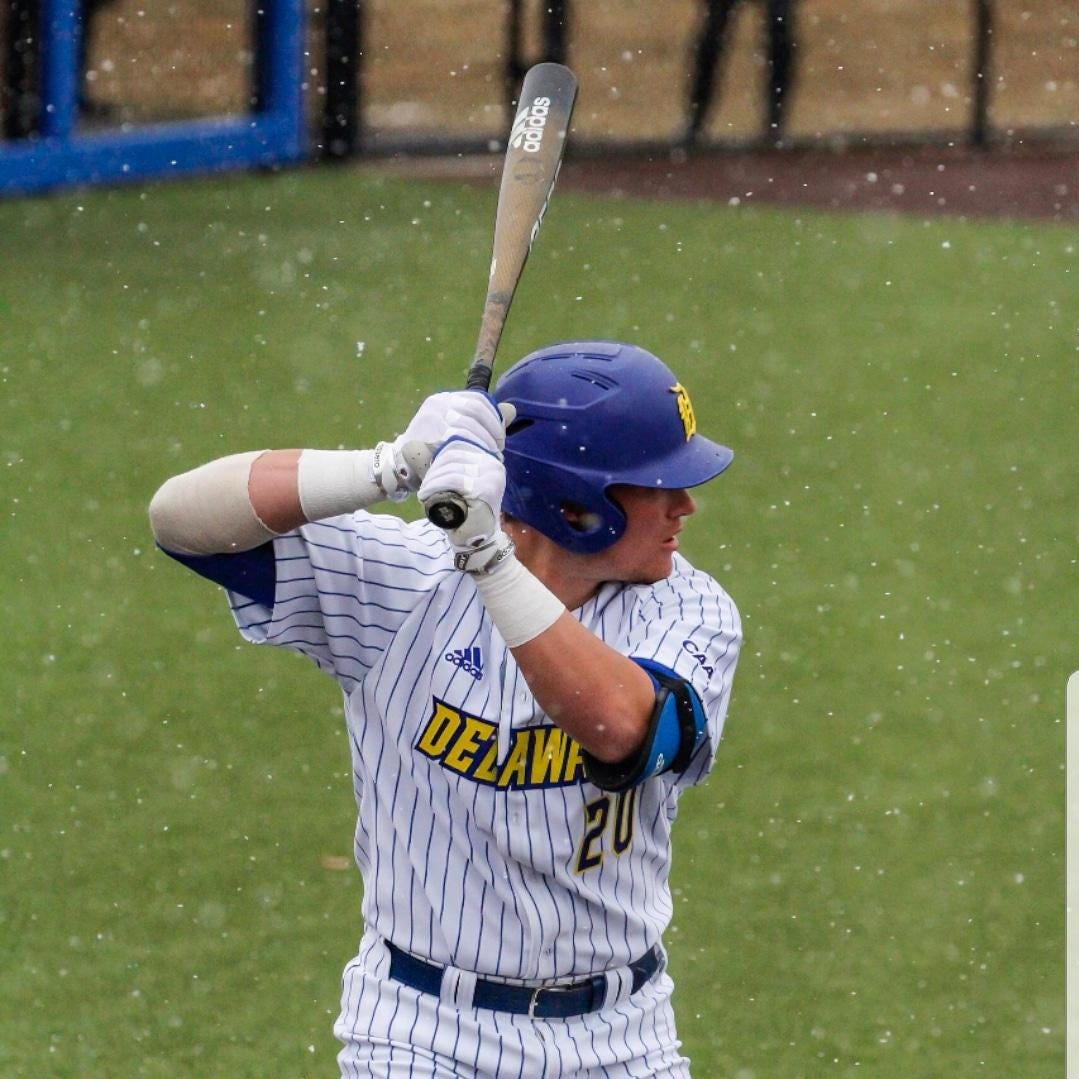 Cedar Crest grad Carpenter thriving in freshman season at Delaware