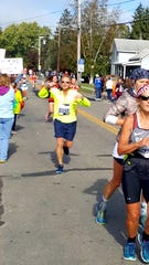 Joseoh Wentzel took up running at age 42 to get in shape, and 20 years later is preparing to run his first Boston Marathon.