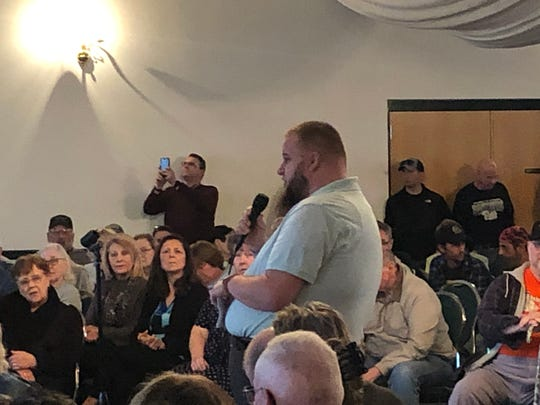 Joshua Mountz, who works as an addiction prevention specialist in Lebanon, was one of the few in attendance at the marijuana listening tour who identified as undecided.