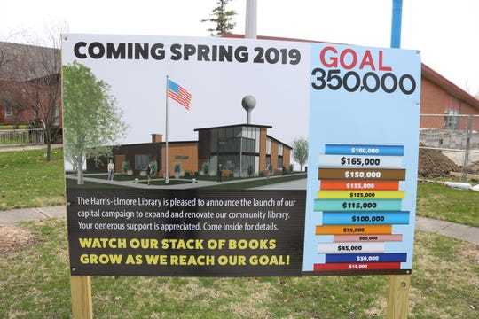 Library officials are still asking for private donations as part of their capital campaign for the expansion project.