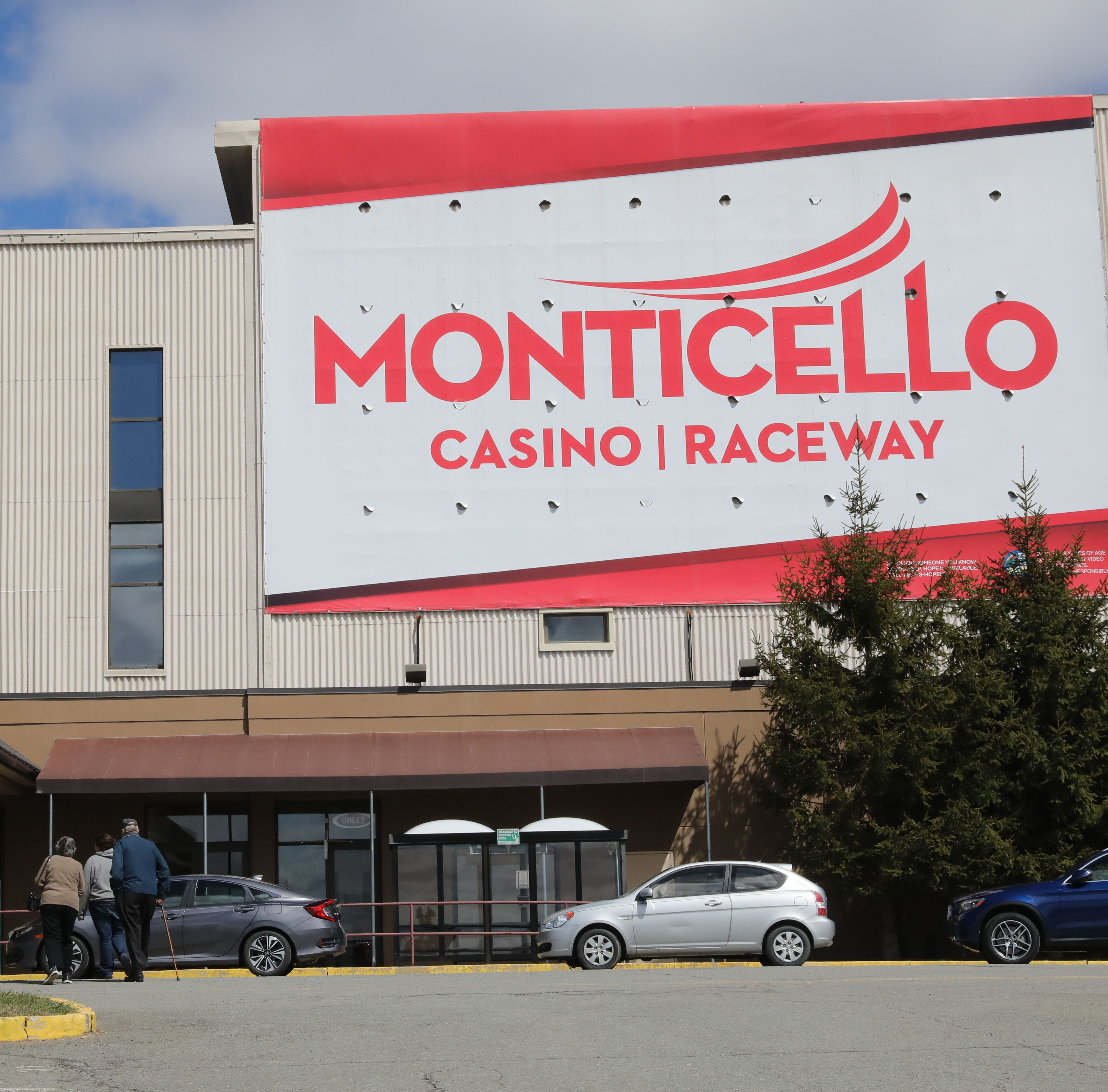 The exterior of the Monticello Casino Raceway in Monticello, April 10, 2019.