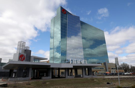 The exterior of the Resorts World Catskills Casino Resort in Monticello, April 10, 2019.