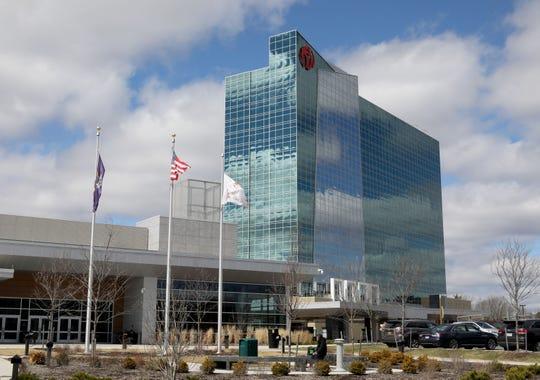 The exterior of the Resorts World Catskills Casino Resort in Monticello, April 10, 2019.