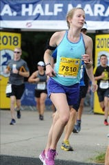 Kaitlyn Hess, a 2011 Chambersburg grad, will run her first ever Boston Marathon on Monday, raising money for the Museum of Science's Traveling Programs