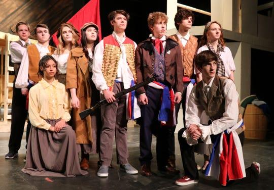 "Dallastown Area High School presents ""Les Miserables,"" April 11-14."